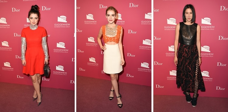 Best Dressed Guests: 2015 Guggenheim International Gala Pre-Party