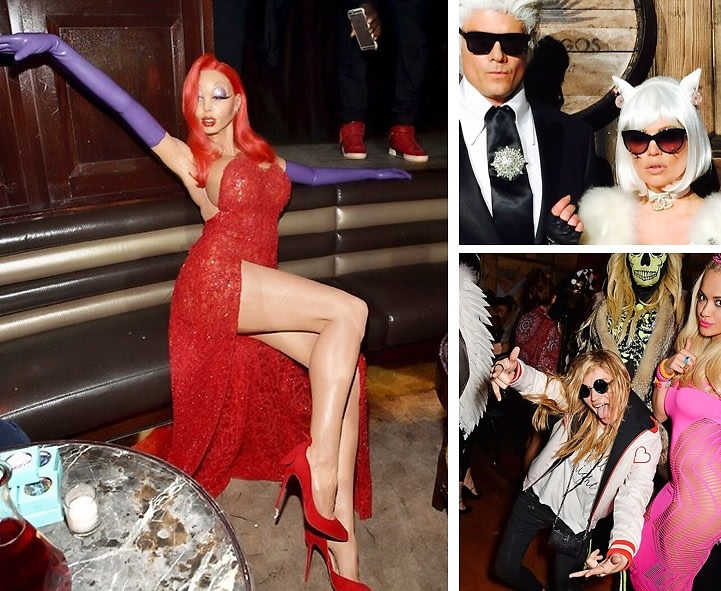 Instagram Round Up: The Best Celebrity Halloween Costumes Of 2015