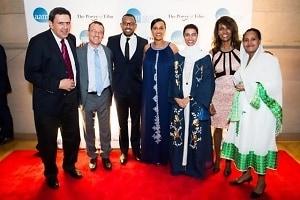 Mithat Bereket, Aaron Lobel, Zeresenay Mehari, Mehret Mandefro, Noura Al Kaabi, Meaza Ashenafi, Aberash Bekele