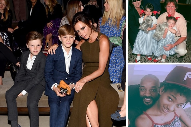 #TBT: Famous Kids & Their Famous Parents