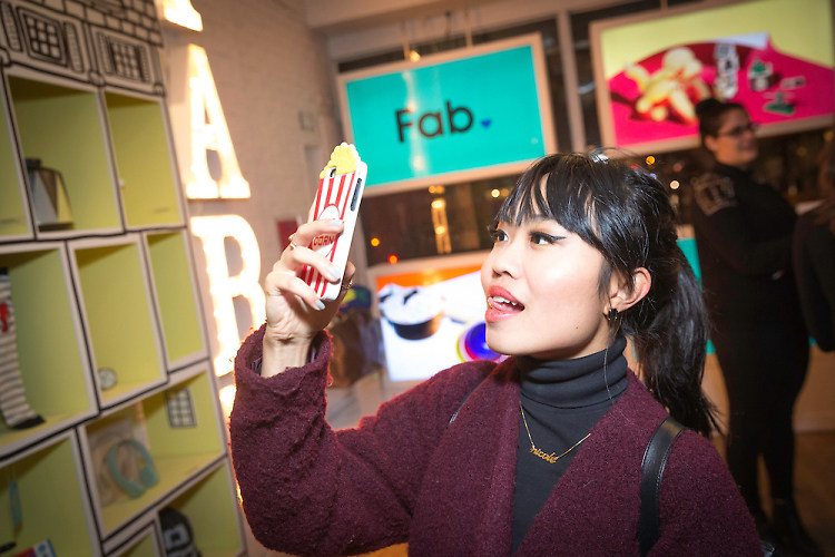 Inside The Fab Holiday Pop-Up VIP Opening