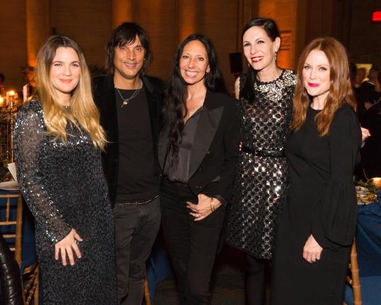 Drew Barrymore, Vinoodh Matadin, Inez van Lamsweerde, Jill Kargman, Julianne Moore