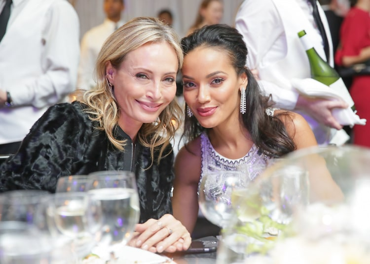 Selita Ebanks Attends The New York Botanical Garden's 17th Annual Winter Wonderland Ball