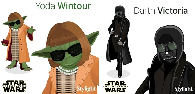 May The Fashion Force Be With You: Style Icons Go Star Wars
