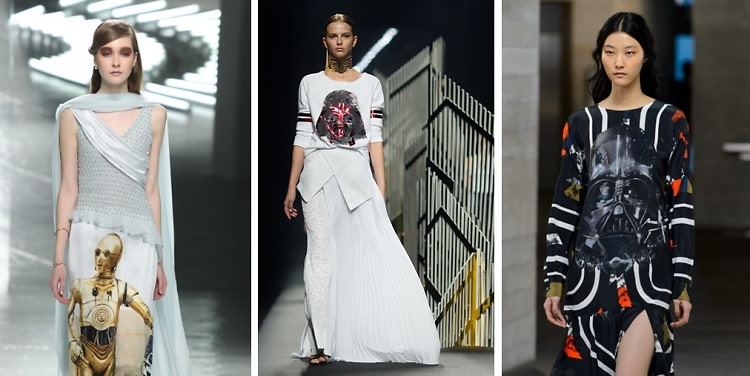 "Out Of This World Fashion To Celebrate Opening Night Of ""Star Wars: The Force Awakens"""