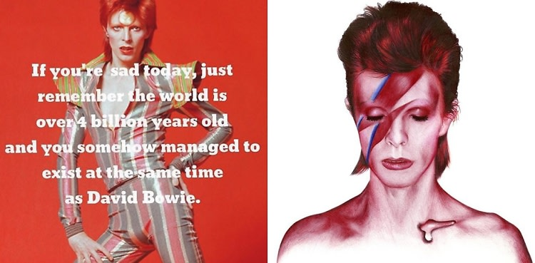 Celebrities Pay Tribute To David Bowie On Social Media