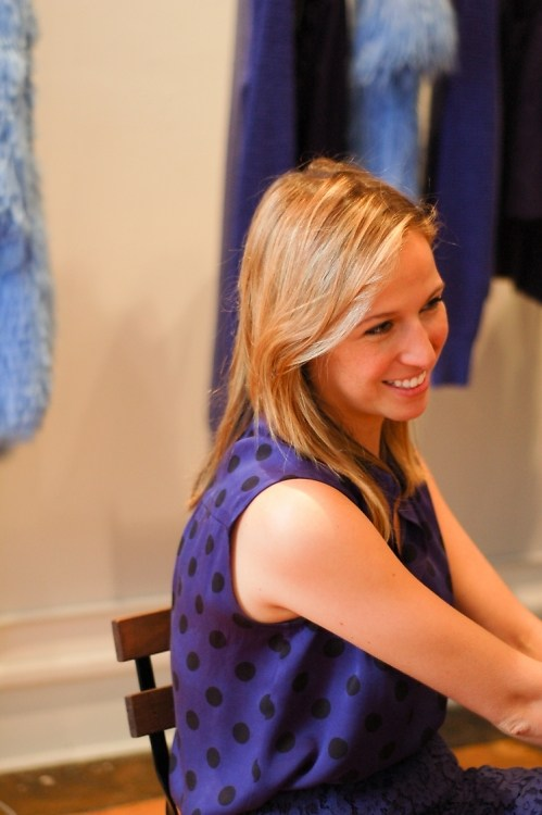 Interview: In The Studio With Designer Misha Nonoo Before New York Fashion Week 2013