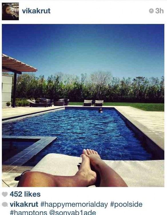 The New #Hamptons Instagram Phenomenon: The Footsie Humble-Brag Shot
