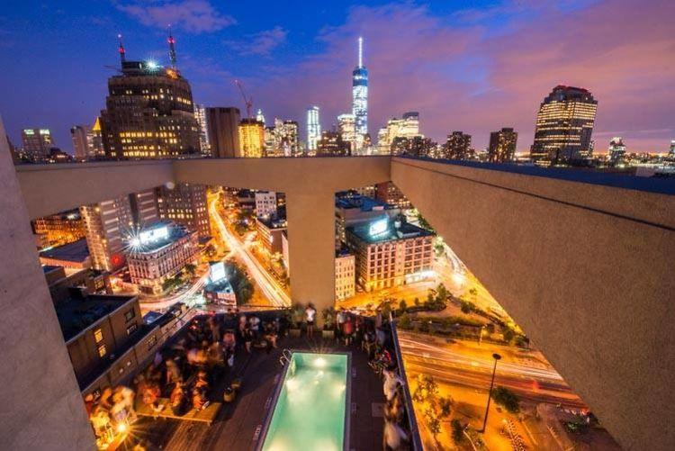 Rooftop Bar Tour New York