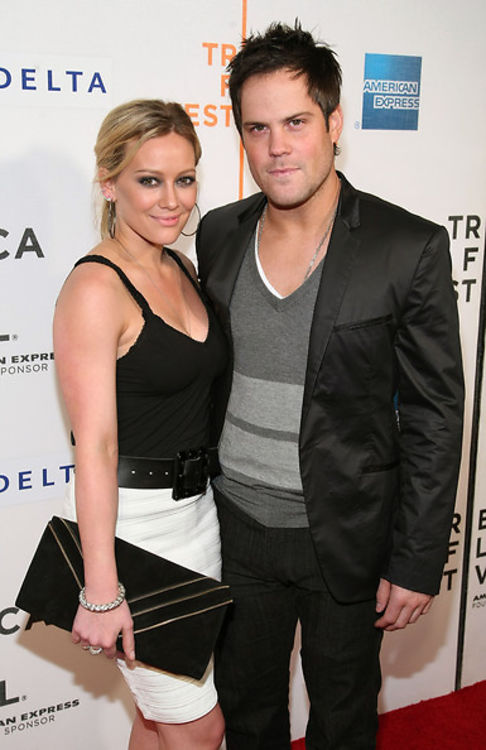 Hilary Duff And Mike Comrie Heat Up The Tribeca Film Festival