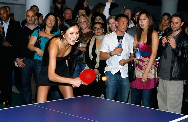 Celebrities Gather For Park Avenue Ping Pong