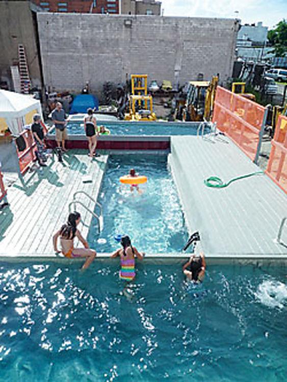 Summer roundup the manhattan pool scene - The last picture show swimming pool scene ...