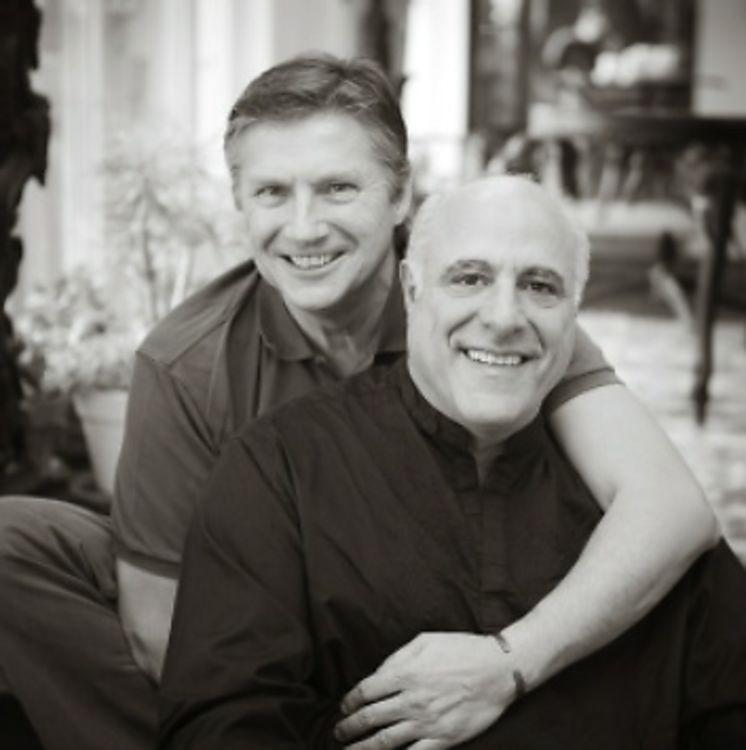 same sex marriage men weddi g card in San Antonio