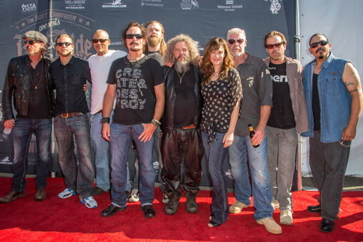 Last Night S Parties Quot Sons Of Anarchy Quot Cast Rides For The