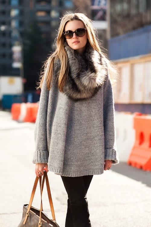 Trend Alert: How To Style Your Oversized Sweater This Season