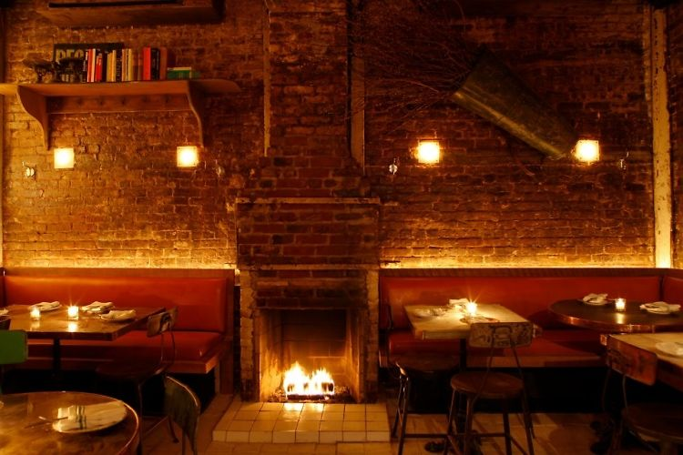 Stay Warm At NYC 39 S Best Restaurants With Fireplaces