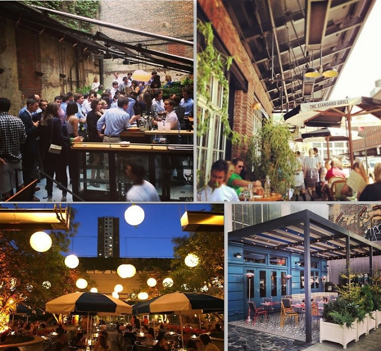 go al fresco in nyc 10 downtown spots for outdoor dining