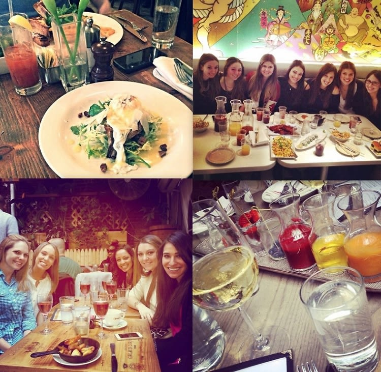 boozy brunch girls edition the best nyc spots to try with your