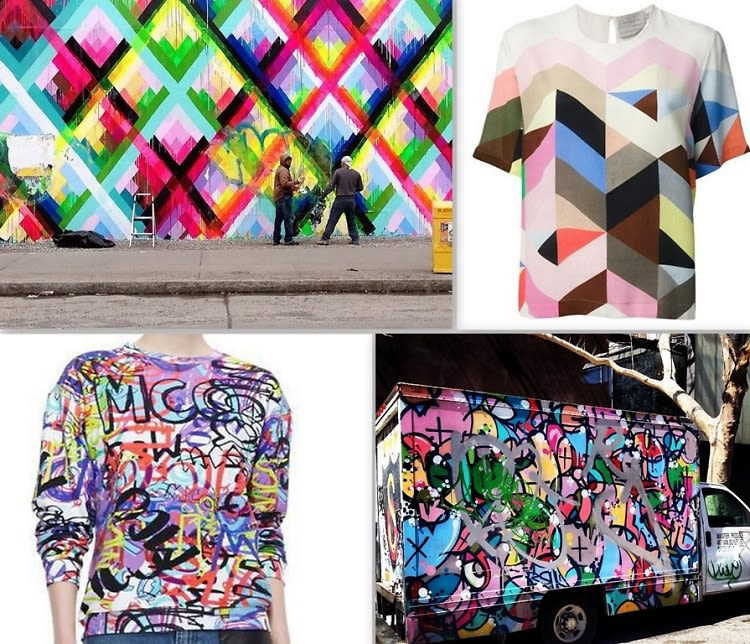 fashion meets art graphic tees inspired by nyc graffiti
