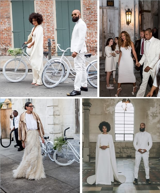 Solange Knowles Just Had The Chicest Wedding EVER (& We're