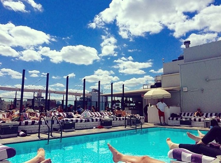 Dip Into The Best Rooftop Pools In Nyc This Summer