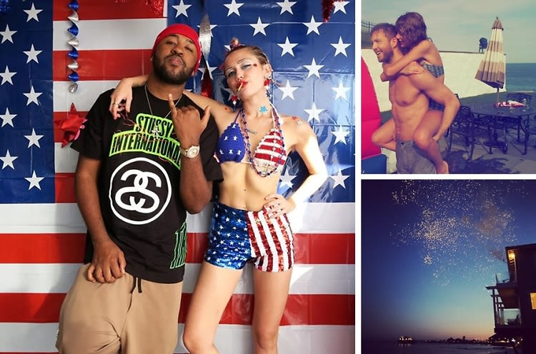 How our favorite celebrities celebrated the 4th of july for Why is 4th of july celebrated