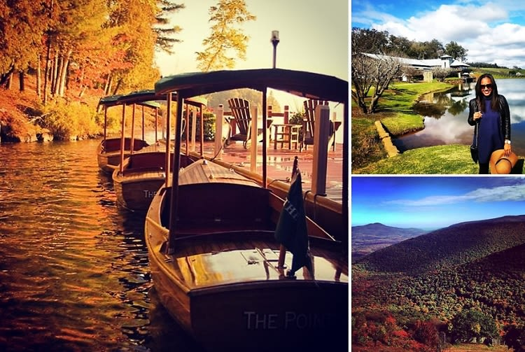 Fall getaway guide 10 weekend destinations near nyc for Weekend getaway in nyc
