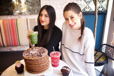 samantha wasser in By CHLOE's Chloe Coscarelli & Samantha Wasser On Foodie Trends & Redefining Vegan