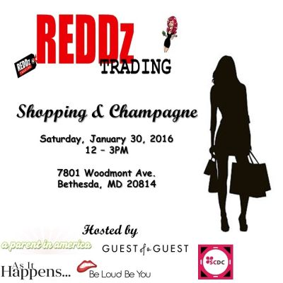 Join GofGDC This Saturday For Shopping & Champagne With MD's Top Bloggers!