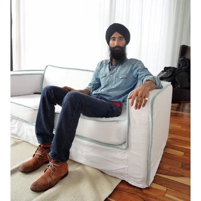waris ahluwalia in 10 Of Our Favorite New Yorkers Talk Their First NYC Apartment