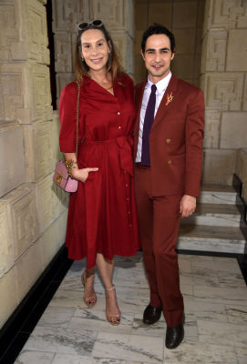 Jacqui Getty, Zac Posen