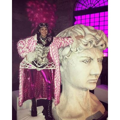 giovanna battaglia in Margherita Missoni Celebrates Her Birthday With A Carnival Themed Party In Venice