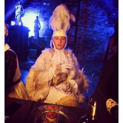 derek blasberg in Margherita Missoni Celebrates Her Birthday With A Carnival Themed Party In Venice