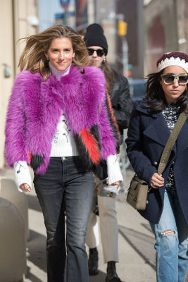 New York Fashion Week Street Style: Day 2