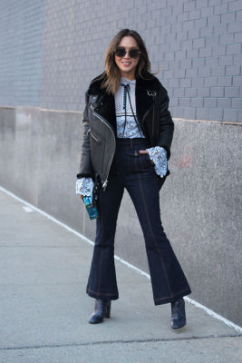 aimee song in New York Fashion Week Street Style: Day 3