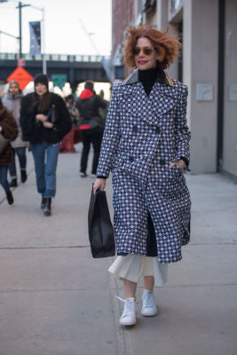 jessica joffe in New York Fashion Week Street Style: Day 3