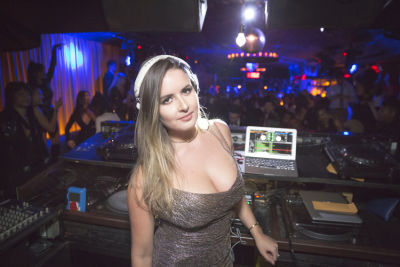 dj coco-robert in Rise City Swimwear Presents a Black Tie Blowout to Benefit Water Collective