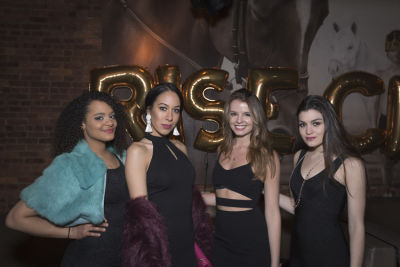 cara lemire in Rise City Swimwear Presents a Black Tie Blowout to Benefit Water Collective