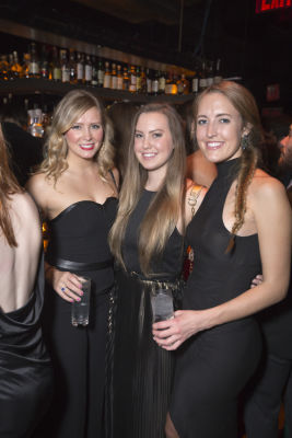 katie cass in Rise City Swimwear Presents a Black Tie Blowout to Benefit Water Collective