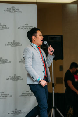 aaron yang in Chinese New Year Celebration at The Shops at Montebello