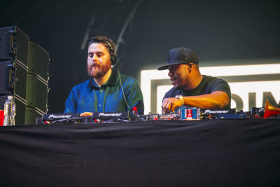 dj locksmith in Shaun White's AIR + STYLE Los Angeles Festival
