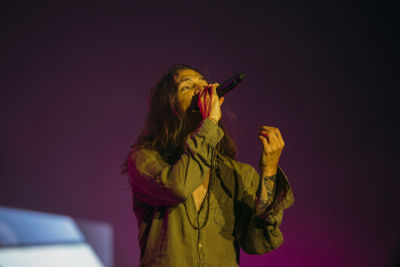 brandon boyd in Shaun White's AIR + STYLE Los Angeles Festival