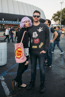allison harvard in Shaun White's AIR + STYLE Los Angeles Festival