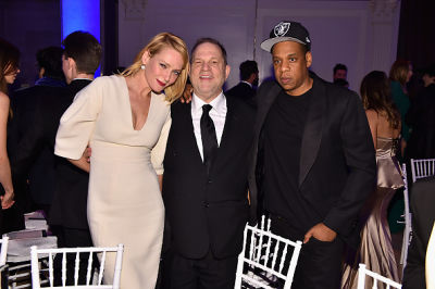 Uma Thurman, Harvey Weinstein, Jay Z