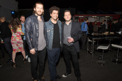 matt rad in Friends N' Family 19 Grammy Party at Quixote Studios