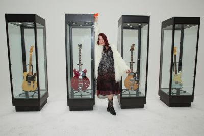 pamela des-barres in Friends N' Family 19 Grammy Party at Quixote Studios