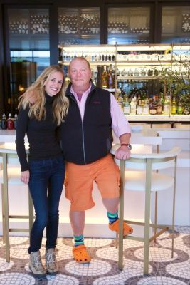 rachelle hruska-macpherson in Mario Batali Gives Donald Trump A Run For His Money & 15 Other Things You Didn't Know About Him