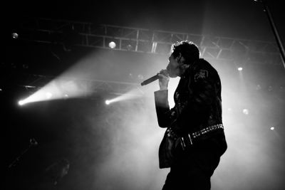 jesse rutherford in The Neighbourhood WIPED OUT! Tour at Fox Theater Pomona