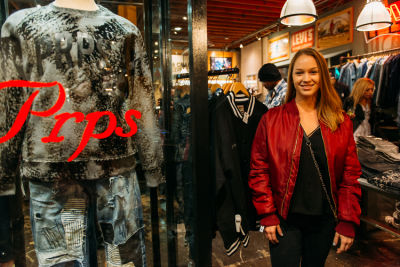 shannon carey in PRPS Spring Collection Launch Event At American Rag Cie