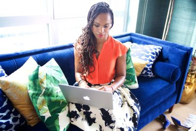 latham thomas in Certified Cool Mom & Businesswoman Latham Thomas Shares Her Secrets For Doing It All